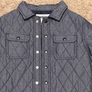 Gymboree boys quilted jacket size Medium 7/8